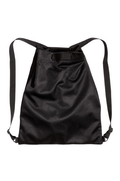 Mesh backpack - Black - Men | H&M CN 1
