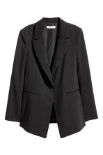 Long jacket - Black - Ladies | H&M GB 2