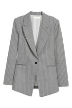 Long jacket - Grey/Pinstripe - Ladies | H&M 2