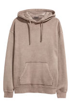Washed hooded top - Mole - Men | H&M CN 2