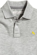 Polo in piqué - Grigio -  | H&M IT 3