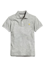 Polo in piqué - Grigio -  | H&M IT 2