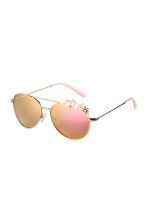 Sunglasses - Gold/Pink - Kids | H&M 1