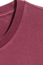 Long-sleeved T-shirt - Plum - Men | H&M CN 3
