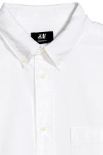 Oxford shirt Regular fit - White - Men | H&M 3