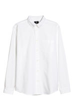 Oxford shirt Regular fit - White - Men | H&M 2