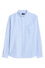 Oxford shirt Regular fit - 浅蓝色 - Men | H&M CN 2