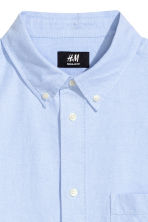 Oxford shirt Regular fit - 浅蓝色 - Men | H&M CN 3