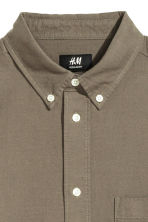 Camicia in cotone Oxford - Verde kaki - UOMO | H&M IT 3