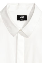 Cotton shirt Slim fit - White - Men | H&M CN 3