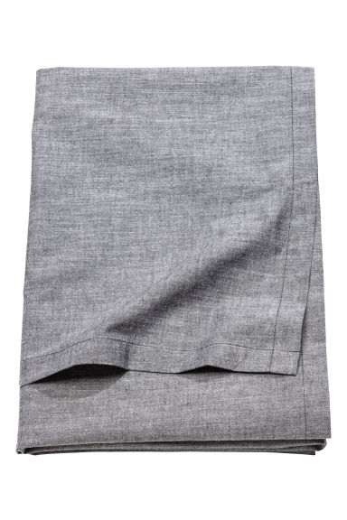Chambray tablecloth - Anthracite grey - Home All | H&M CN 1