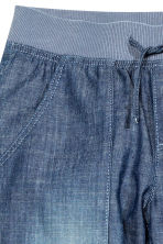 Cotton pull-on trousers - Denim blue - Kids | H&M CN 4