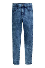 Treggings High Waist - Blau washed out - KINDER | H&M CH 2