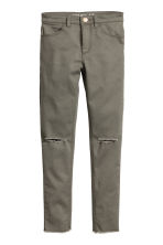 Stretch trousers - Khaki green - Kids | H&M CN 2