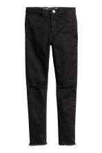 Stretch trousers - Black -  | H&M CN 2