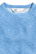 Purl-knit jumper - Blue marl -  | H&M CN 3