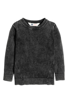 Jumper with a washed look