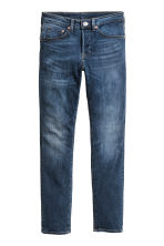 Skinny Low Jeans - Dark denim blue - Men | H&M 2