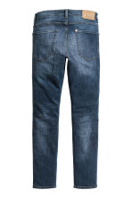 Skinny Low Jeans - Dark denim blue - Men | H&M 3