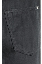 Twill trousers Slim fit - Black -  | H&M 5