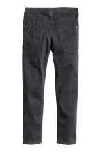 Twill trousers Slim fit - Black -  | H&M 4