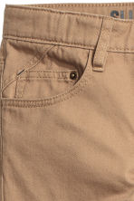 Twill trousers Slim fit - Beige - Kids | H&M CN 3