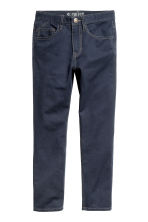 Pantaloni in twill Slim fit - Blu scuro - BAMBINO | H&M IT 2