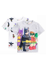 2-pack T-shirts - White/Lego - Kids | H&M 2
