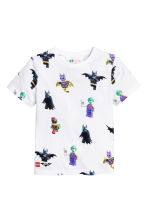 2-pack T-shirts - White/Lego - Kids | H&M 3