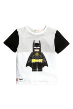 Printed T-shirt - White/Lego - Kids | H&M 2