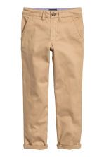 Slim fit Chinos - Beige -  | H&M CN 2