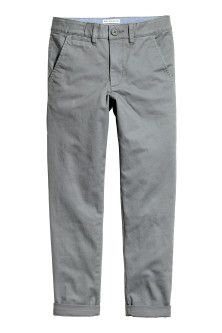 Pantalon coutil Slim fit