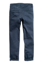 Slim fit Chinos - Blu scuro - BAMBINO | H&M IT 2