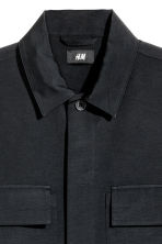 Shirt jacket - Black - Men | H&M CN 3