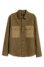 Utility shirt - Khaki - Men | H&M CN 2