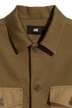 Utility shirt - Khaki - Men | H&M 3