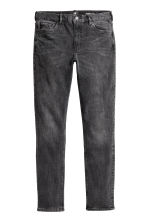 Skinny Regular Jeans - Svart washed out - Men | H&M FI 2