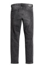 Skinny Regular Jeans - Noir washed out - HOMME | H&M CH 3