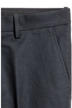 Cropped suit trousers - Black - Men | H&M 4