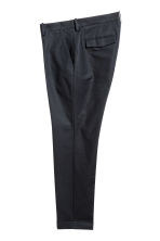 Cropped suit trousers - Black - Men | H&M 3