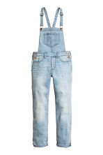Denim dungarees - Light denim blue - Kids | H&M CN 2