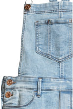 Denim dungarees - Light denim blue - Kids | H&M CN 4