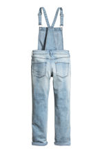Denim dungarees - Light denim blue - Kids | H&M CN 3