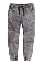 Pull-on trousers - Grey washed out - Kids | H&M 2