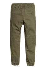 Pull-on trousers - Khaki green - Kids | H&M 3