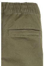 Pull-on trousers - Khaki green - Kids | H&M 5