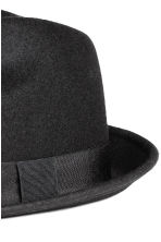 Wool hat - Black - Men | H&M CN 2
