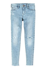 Superstretch Skinny fit Jeans - Светло-голубой деним -  | H&M RU 2