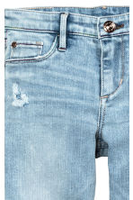 Superstretch Skinny fit Jeans - Светло-голубой деним -  | H&M RU 4