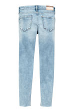 Superstretch Skinny fit Jeans - Светло-голубой деним -  | H&M RU 3